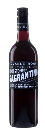Lovable Rogue 2019 'Foot Stomped' Sagrantino